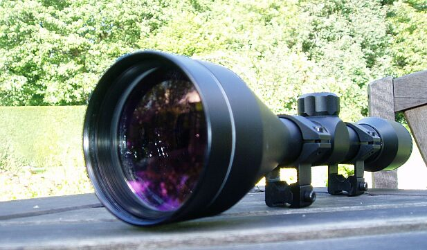 An 8x56 scope. Big Objective lens!