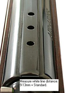 example dovetail standard 11mm rail