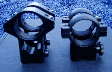 rifle scope mounts - High and Low Mounts